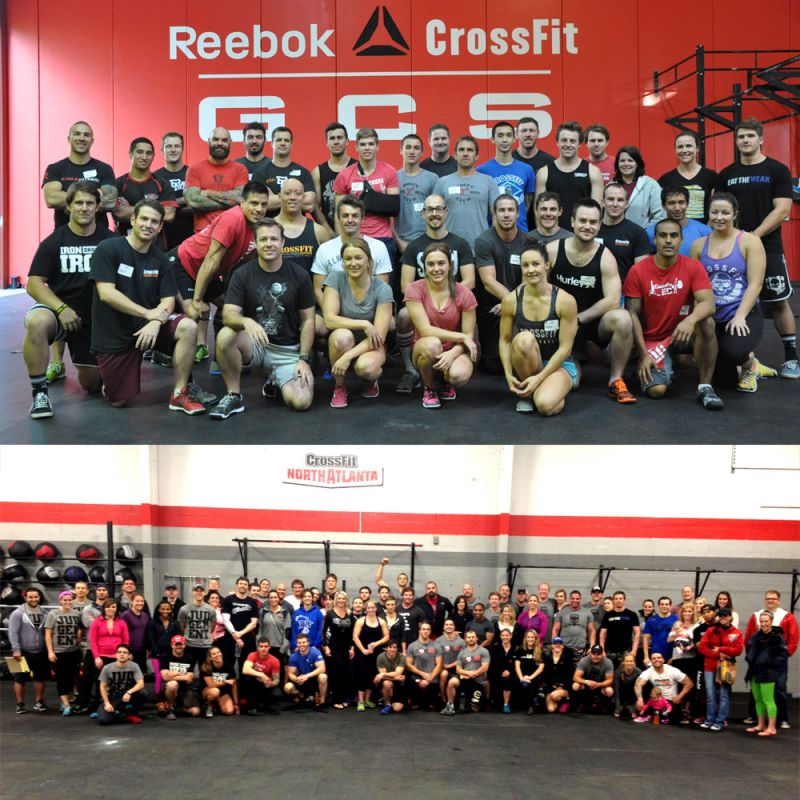 Where's Wally?....or in this case, Drew, at the recent CrossFit Football Cert.