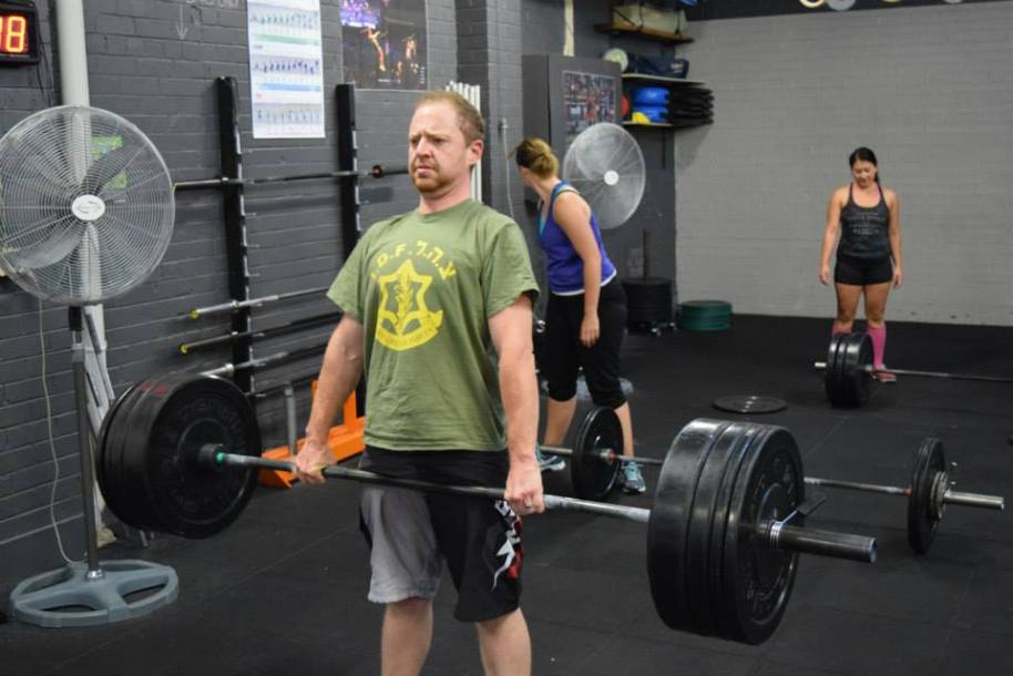 Brad has only been with us a short while but has been a regular at the 5.30am sessions and has been making steady progress with the technique of his lifts.