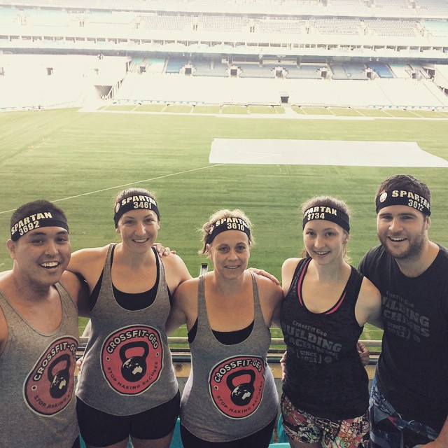 CrossFit Geo represent at the Spartan Race.  IT's great to see members getting out there and trying new challenges.