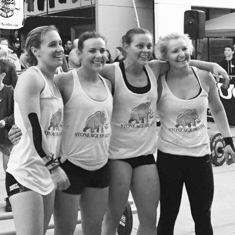 Congratulations to these girls - Jess, Deano, Katrina and Emily and pulled out a 3rd place podium finish at yesterday's Never Quite Affiliate Showdown.