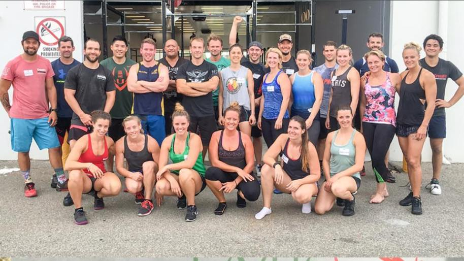 CrossFit Level 1 course participants in Perth.  Never stop learning.