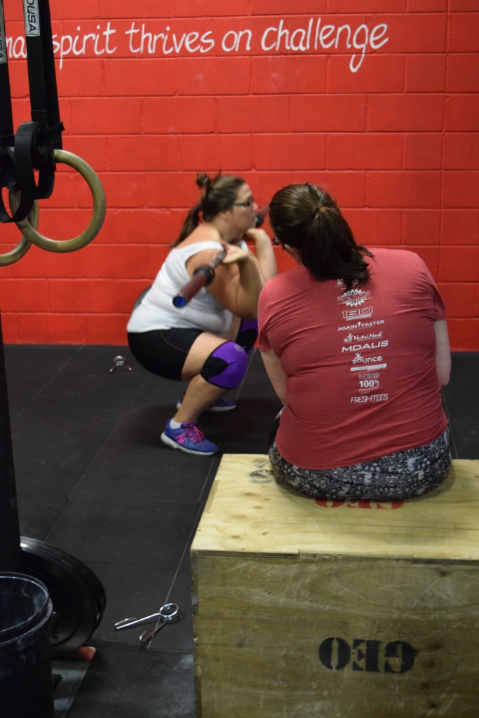 Two generations of CrossFittig women - Rach and Hannah