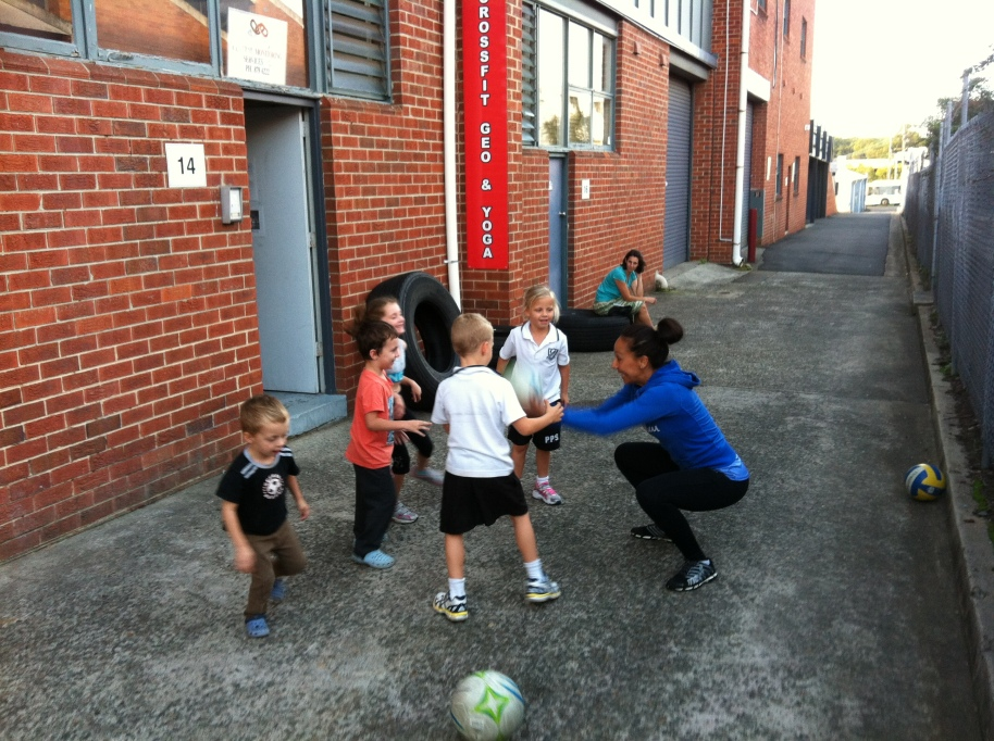 Blast from the past - Kids CrossFit at GEO