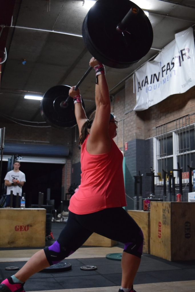 Rach has been killing her Oly Lifts this year.