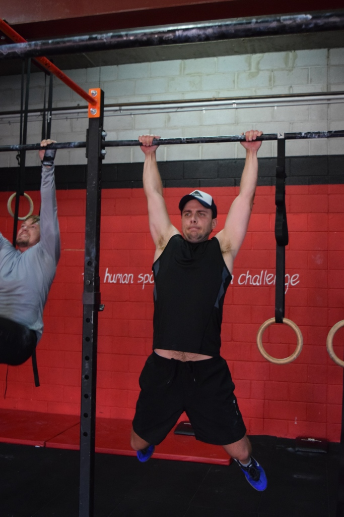 Sasha joined us for the epic 12 Days WOD.